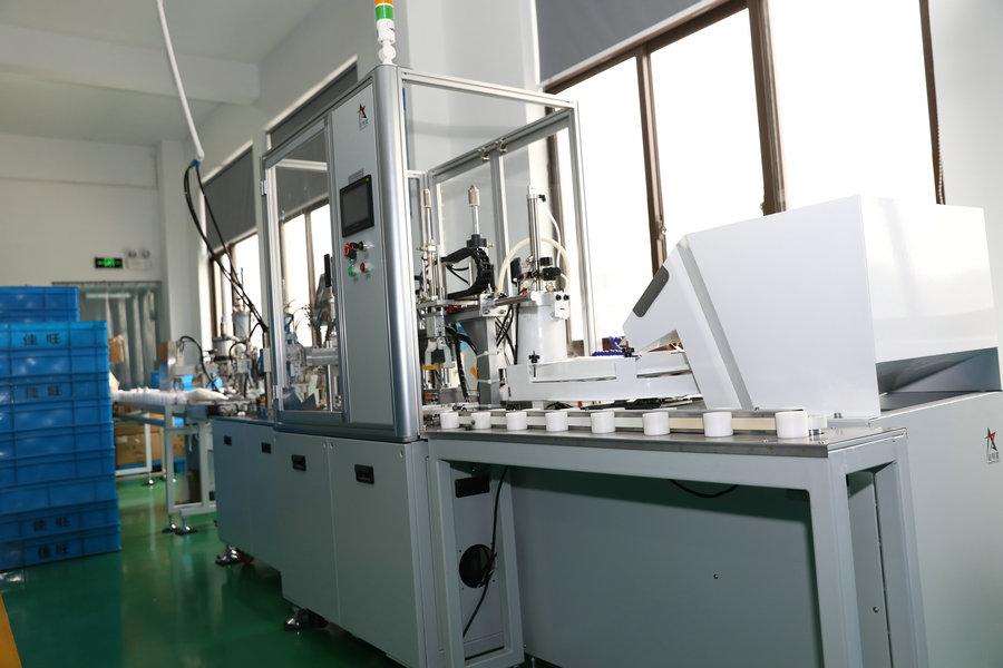 Automatische Montagemaschine der LED-Birne